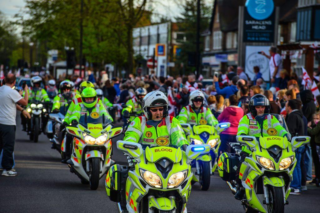 blood bikers volunteers