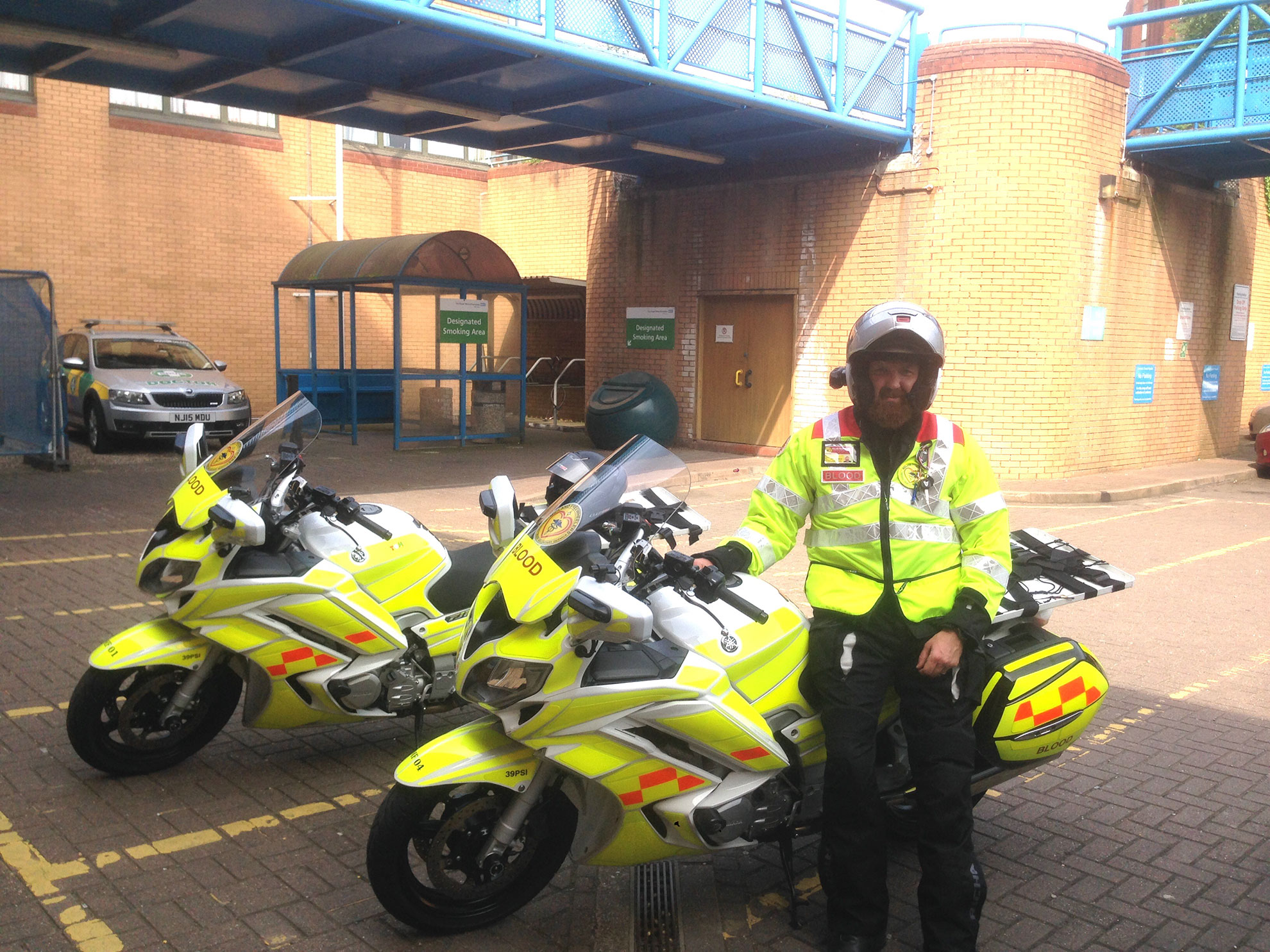 NHS blood bikers